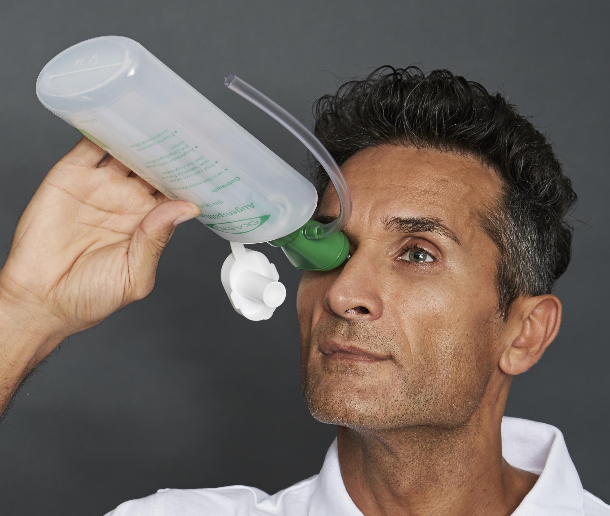 EKASTU-Augenspülflasche mit Trichter, FD