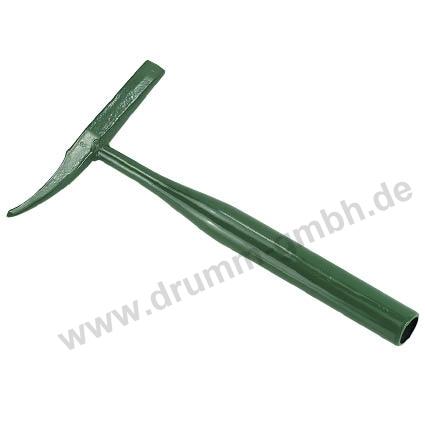 Schweißer-Pickhammer, Schlackehammer Ganzstahl, Rundrohr