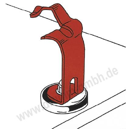 MIG-Brennerhalter mit Magnetfuß