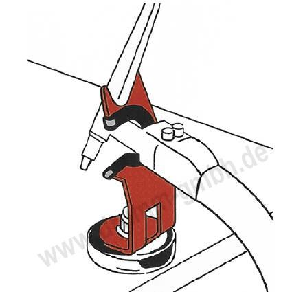 WIG-, TIG-Brennerhalter mit Magnetfuß