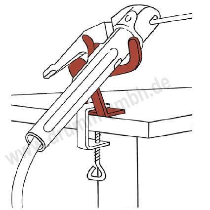 Halter für Elektrodenhalter