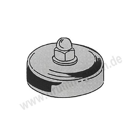 Magnetfuß für Brennerhalter