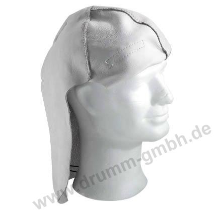 Kopf- /Nackenschutz aus Vollleder