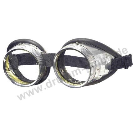 Schraubringbrille Ø 50 mm farblos, splitterfrei