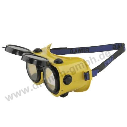 Schutzbrille hochklappbar
