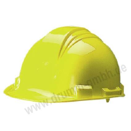 Schutzhelm nach DIN 4843 gelb