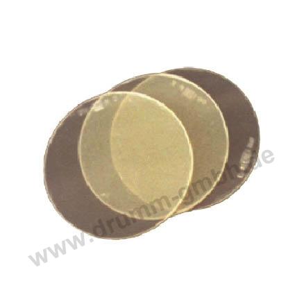AULEKTRO-  goldverspiegelt rund DIN A 9
