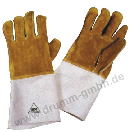 Hitzehandschuh aus Leder