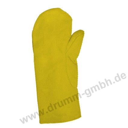 Hitzehandschuh Aramidgewebe Typ 650, gelb, bis 500°C