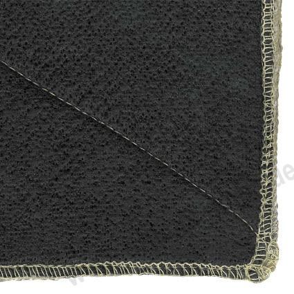 Flammschutzmatten Vlies Typ 600 schwarz bis 1000°C