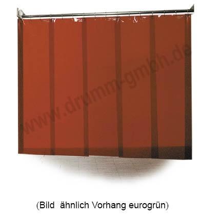Streifenvorhänge 1,0 mm eurogrün für alle Schweißverfahren