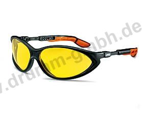 uvex cybric Scheibe: -gelb amber, 2 - 1,2 UV