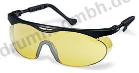 Schutzbrille uvex skyper gelb