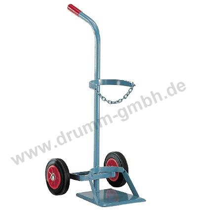 Stahlflaschenwagen Vollgummireifen Ø 200 mm x 50 mm
