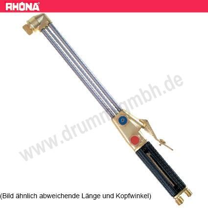 Handschneidbrenner / Fugenhobler X511 GASEMISCHEND Länge 855 mm Kopf 75°