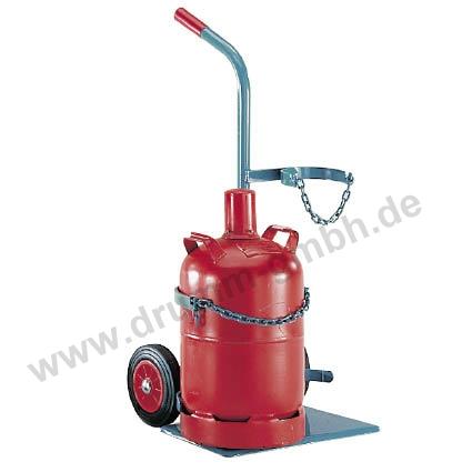 Stahlflaschenwagen Propan - Sauerstoff
