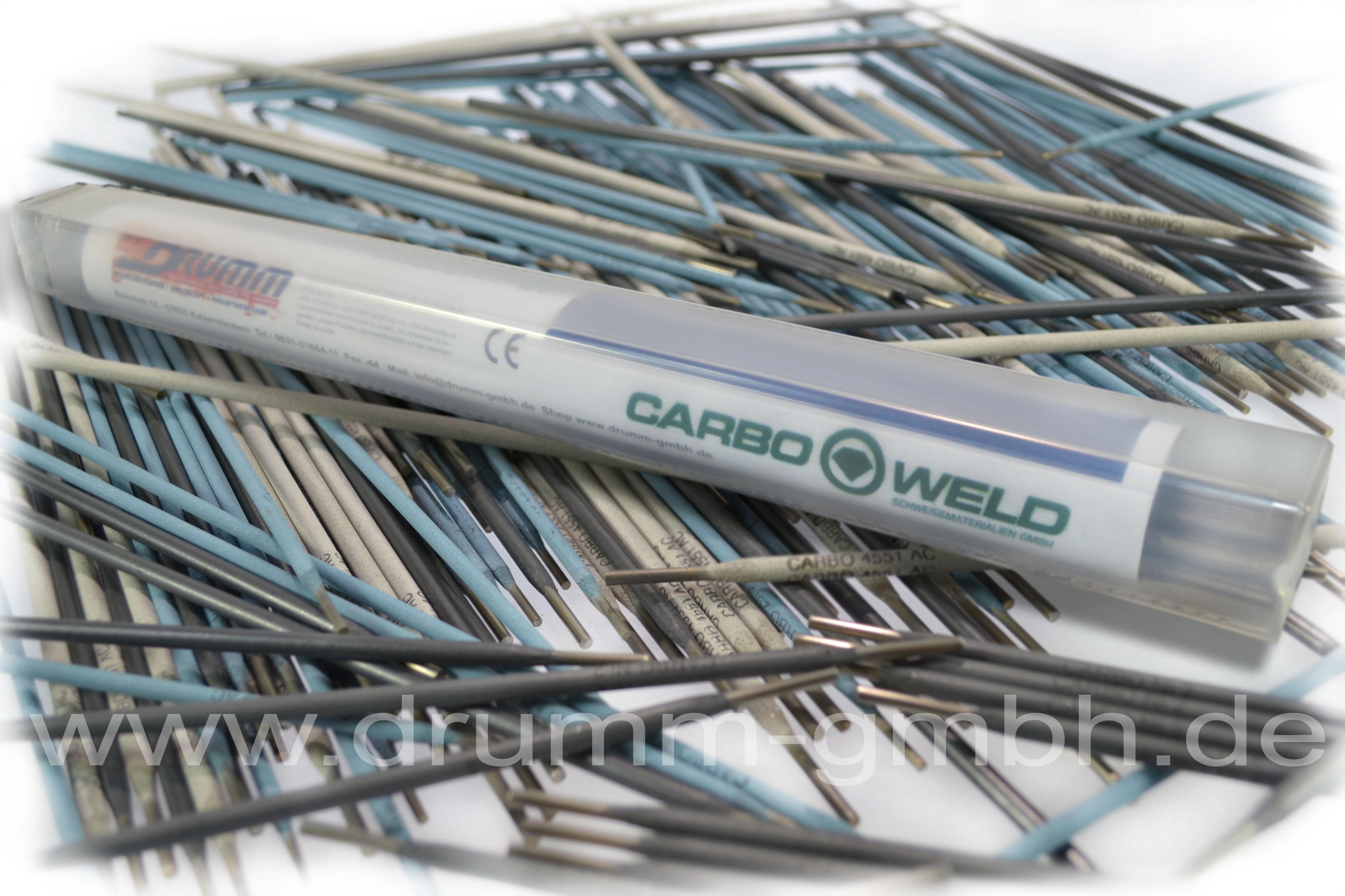 Stabelektroden Carbo Weld CARBO Ni 2, Maße 3,2 x 350 mm, 10 Stück