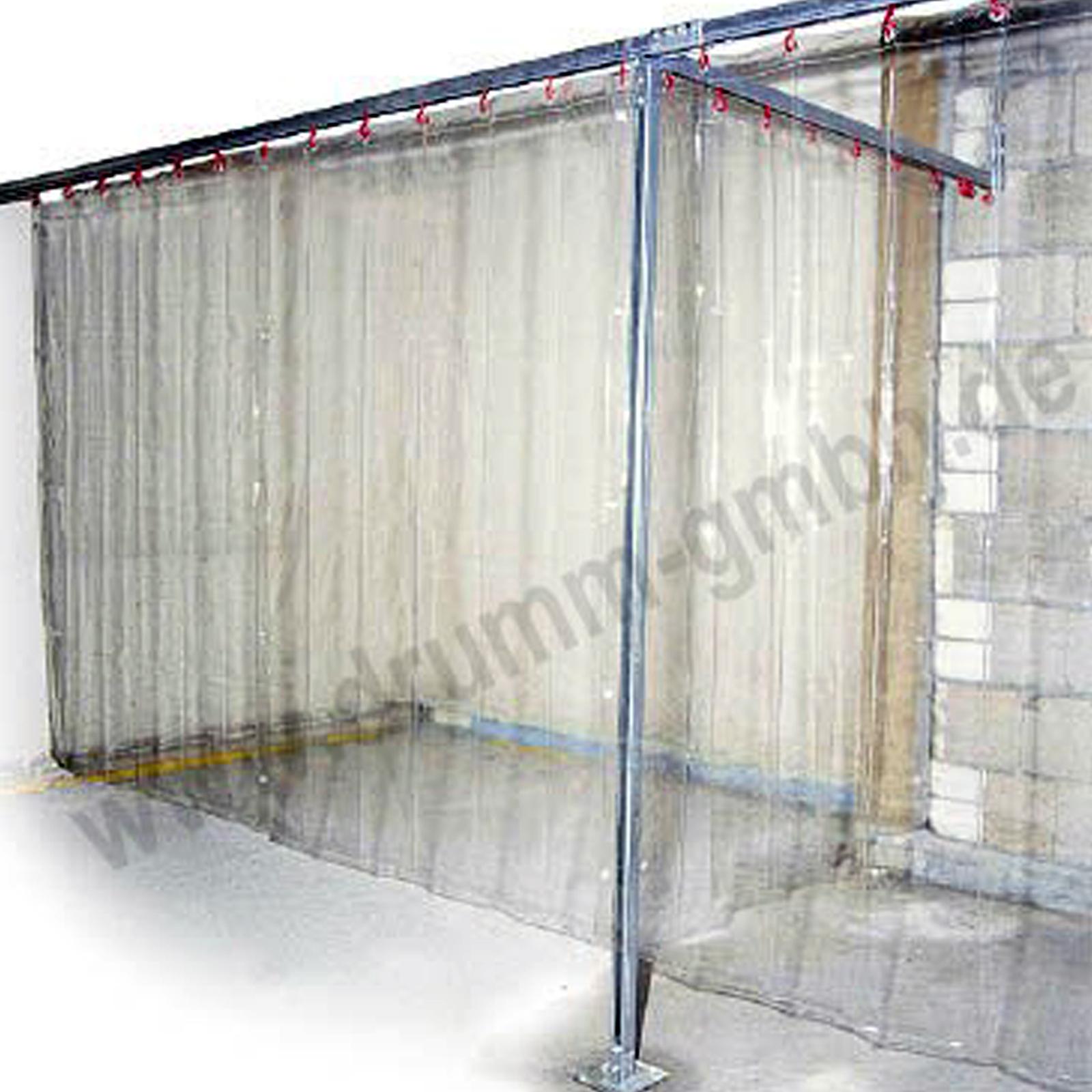 Schutzvorhang glasklar